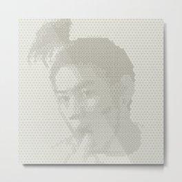 Tessellated Portraits - D.C. Metal Print
