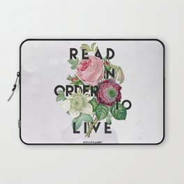 In Order to Live  Laptop Sleeve