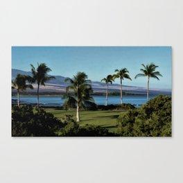Kona Coast Canvas Print