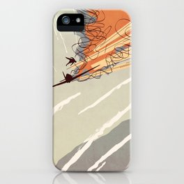 Dogfight - Colour iPhone Case