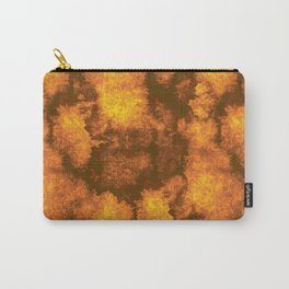 Orange Grunge Lace Carry-All Pouch