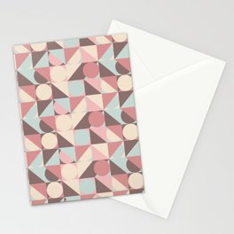 Circles, and Squares, and Triangles! Oh, My! Stationery Cards