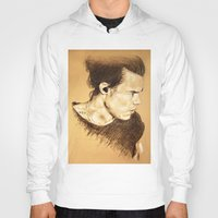 harry styles Hoodies featuring Harry Styles by Drawpassionn