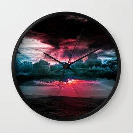 Marvelous earth Wall Clock