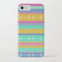 southwest iPhone & iPod Cases featuring Southwest Dawn by Rebecca L. Davis