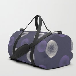 Abstract ultra violet scribble circle seamless pattern Duffle Bag