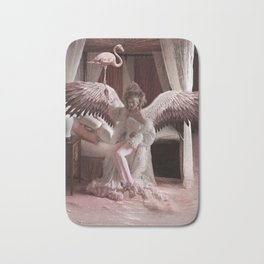 Pink Flamingo Bath Mat