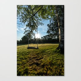 Country Comfort / Tree Swing Canvas Print