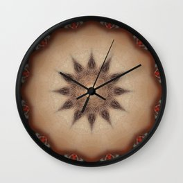 pastel mandals art147 mand 32 Wall Clock