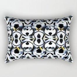 Les liens (noirs) Rectangular Pillow