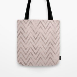 Mauve pink faux rose gold modern geometrical Tote Bag
