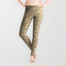 Craft paper Christmas Merry and Bright Leggings