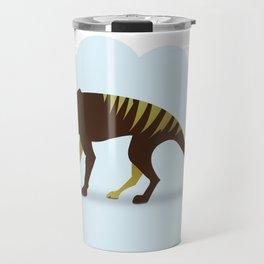 God's Zoo: Tasmanian Tiger Travel Mug