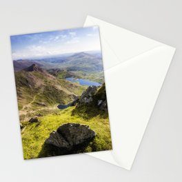 Snowdon Pyg and Miners Track Stationery Cards