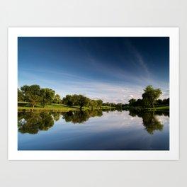 Meadow Lake Art Print