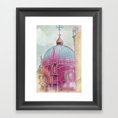 DREAMING OF SAN MARCO Framed Art Print