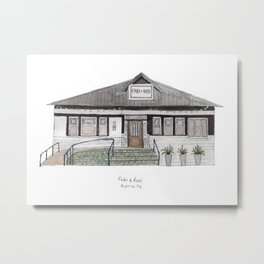 The Austin Collection: Fabi + Rosi Metal Print
