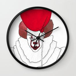 Pennywise - We All Float Down Here Wall Clock