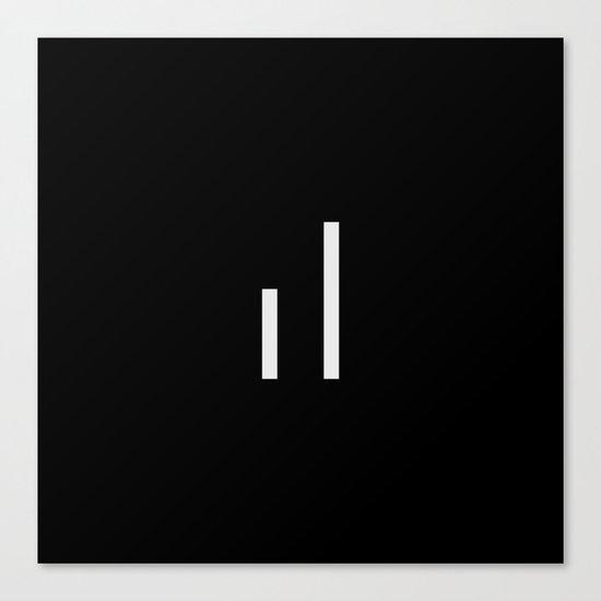 infiniteloop logo Canvas Print