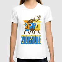 super heroes T-shirts featuring zilasaule. super-heroes by Ilja Donets