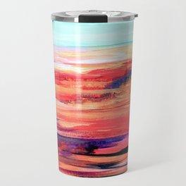 Nevada Abstract Landscape Travel Mug