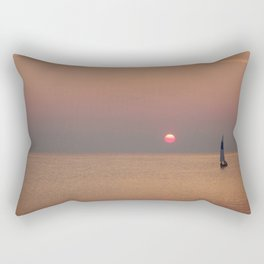 Key West Sunset Rectangular Pillow