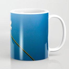 Flowers in blue Coffee Mug