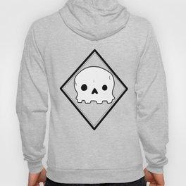 Non-threatening Skull Hoody