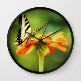 Last of Summer Wall Clock