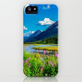 God's Country - Summer in Alaska iPhone Case