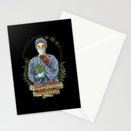 Nurse Hero funny quote gift birthday christmas Stationery Cards