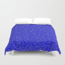 royal blue glitter Duvet Cover