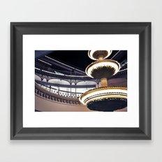 Crescent Court Framed Art Print