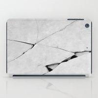 ed sheeran iPad Cases featuring CRACK(ed) by InteriorEpiphanies
