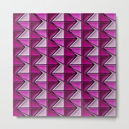 Geometrix 128 Metal Print
