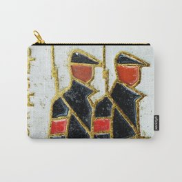 Russian Soldiers 1917 Russian Lapel Pin Carry-All Pouch