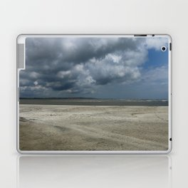 Dramatic Sky Over Golden Isles Beach Laptop & iPad Skin