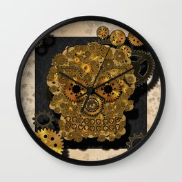 Engrenage Wall Clock