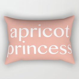 apricot princess Rectangular Pillow