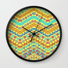 decorated Wall Clock