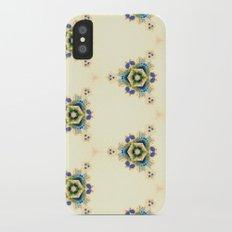 Floral iPhone X Slim Case