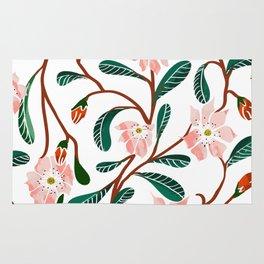 Floral Deco Rug