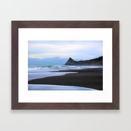 Watching the tide come in Humboldt California Framed Art Print