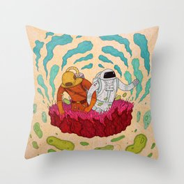 Voyagers Throw Pillow