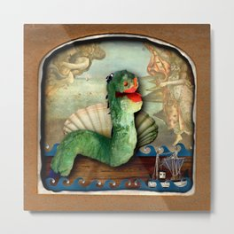The Deserted Toyshop: Loch Ness Theatre Metal Print
