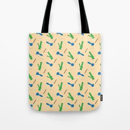 Bongs, Blunts, Joints Pattern Tote Bag