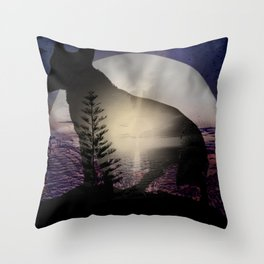Woldf Throw Pillow