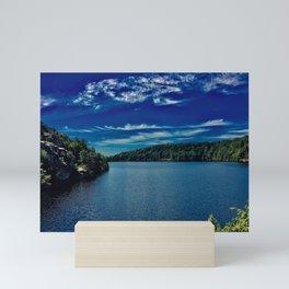 Lake Minnewaska Mini Art Print