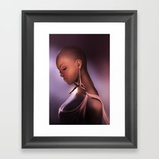 A few seconds before the show Framed Art Print