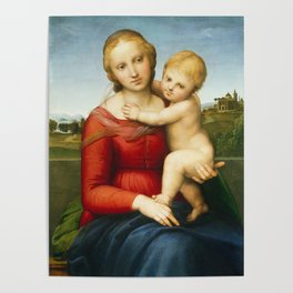The Small Cowper Madonna Poster